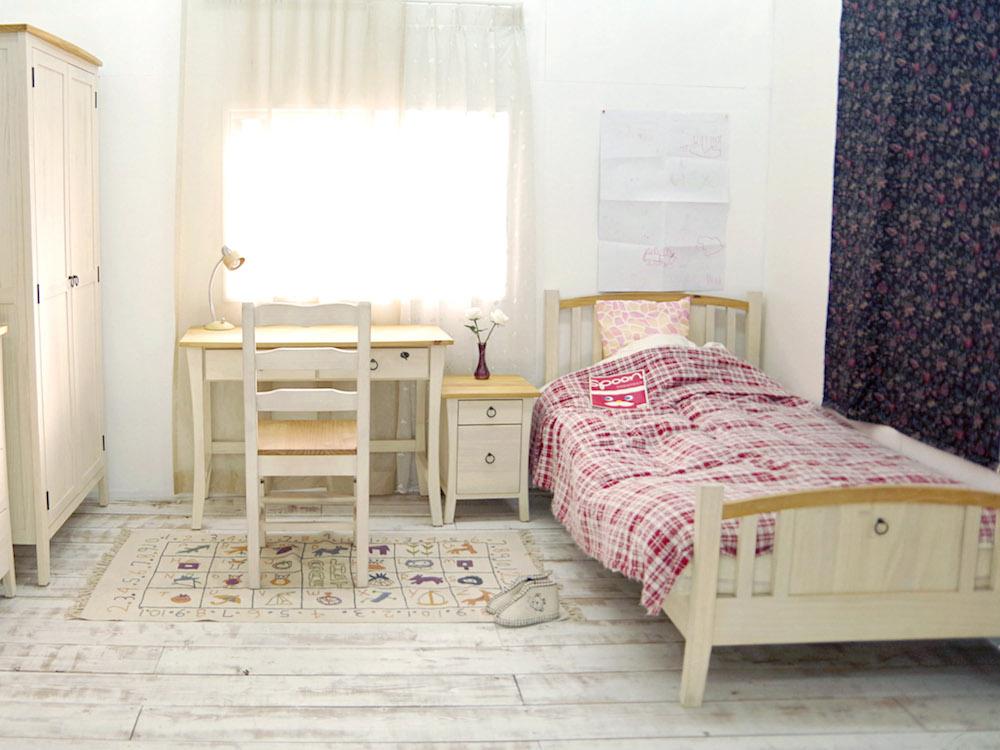 フレンチカントリーベッド